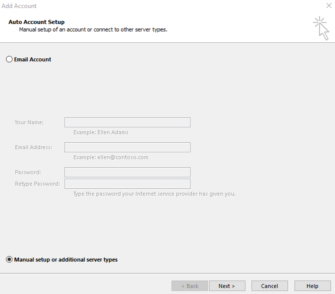 Configuring a Mail Client to work with a mail server | ISPserver